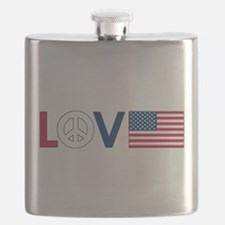 love peace america.png Flask
