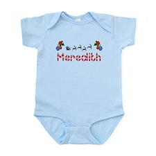 Meredith, Christmas Infant Bodysuit