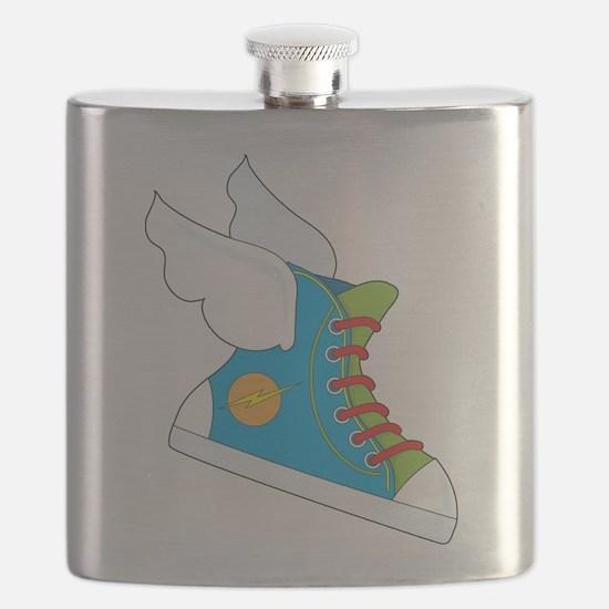 Flying Sneaker Flask
