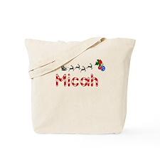 Micah, Christmas Tote Bag