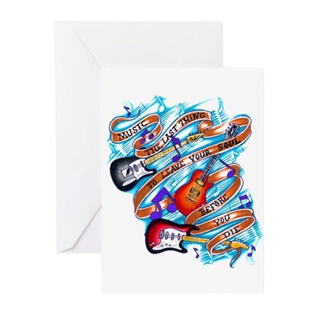 Musician's Life Greeting Cards (Pk of 10)