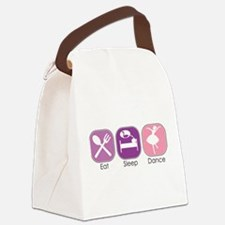 Eat Sleep Dance Canvas Lunch Bag