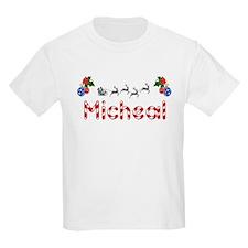 Micheal, Christmas T-Shirt