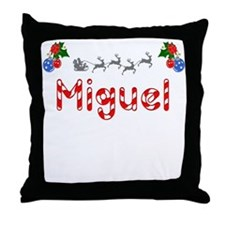 Miguel, Christmas Throw Pillow