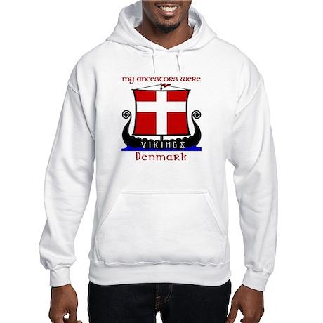 Danish VikingAncestors Hooded Sweatshirt