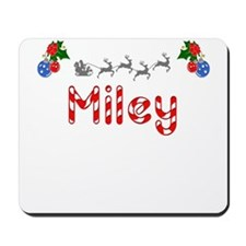 Miley, Christmas Mousepad