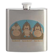 monkey see speak hear2.png Flask