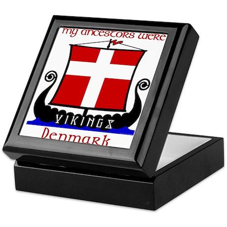 Danish Viking Ancestors Keepsake Box