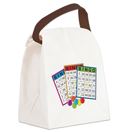 bingo cards.png Canvas Lunch Bag