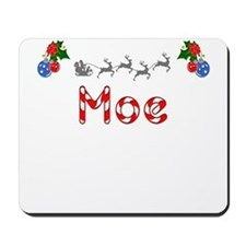 Moe, Christmas Mousepad