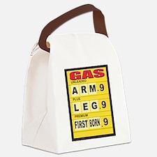 arm_leg.png Canvas Lunch Bag