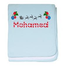 Mohamed, Christmas baby blanket