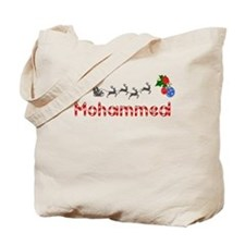 Mohammed, Christmas Tote Bag