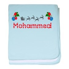 Mohammed, Christmas baby blanket