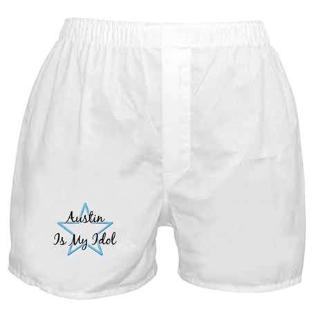 AUSTIN IS MY IDOL Boxer Shorts