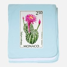 1960 Monaco Easter Lily Cactus Postage Stamp baby