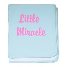 Little Miracle baby blanket