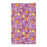 Candy Hearts Lilac 3'x5' Area Rug