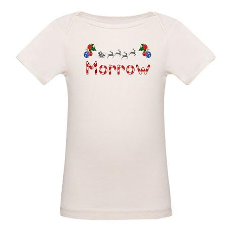 Morrow, Christmas Organic Baby T-Shirt