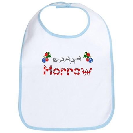 Morrow, Christmas Bib
