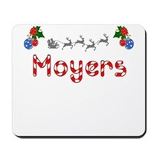 Moyers, Christmas Mousepad