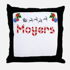 Moyers, Christmas Throw Pillow
