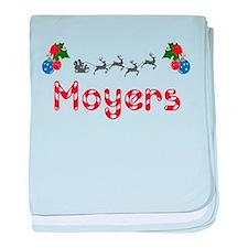 Moyers, Christmas baby blanket