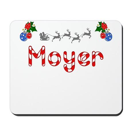 Moyer, Christmas Mousepad