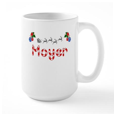 Moyer, Christmas Large Mug