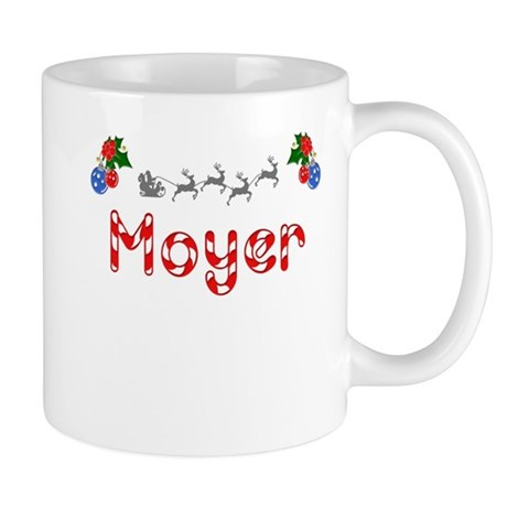 Moyer, Christmas Mug