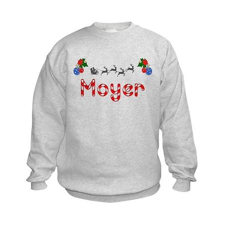 Moyer, Christmas Kids Sweatshirt