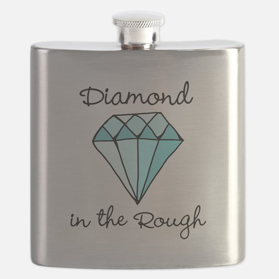 'Diamond in the Rough' Flask