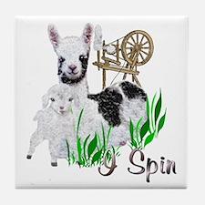 I Spin Tile Coaster