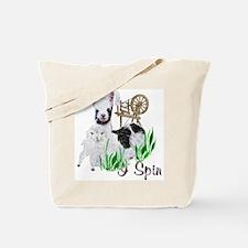 I Spin Tote Bag