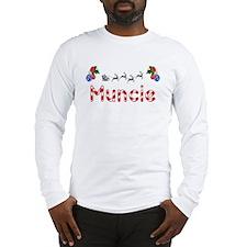 Muncie, Christmas Long Sleeve T-Shirt
