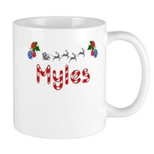 Myles, Christmas Small Mug