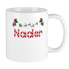 Nader, Christmas Small Mug