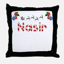Nasir, Christmas Throw Pillow