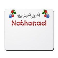 Nathanael, Christmas Mousepad