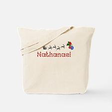 Nathanael, Christmas Tote Bag