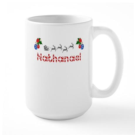 Nathanael, Christmas Large Mug