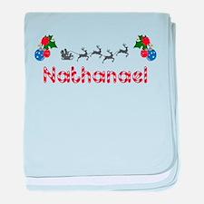 Nathanael, Christmas baby blanket