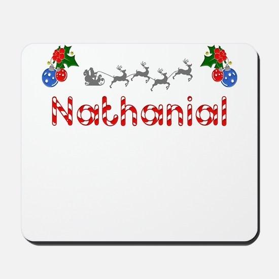 Nathanial, Christmas Mousepad