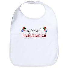 Nathanial, Christmas Bib