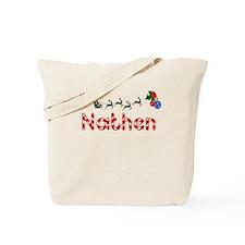 Nathen, Christmas Tote Bag