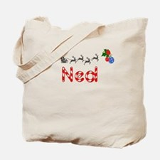 Ned, Christmas Tote Bag