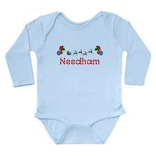 Needham, Christmas Long Sleeve Infant Bodysuit