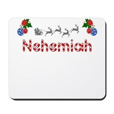 Nehemiah, Christmas Mousepad