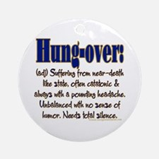 Hung-over Ornament (Round)