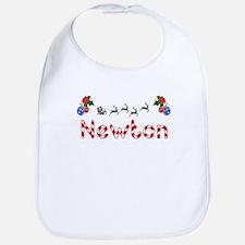 Newton, Christmas Bib
